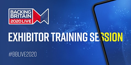 Virtual Exhibitor Training tickets