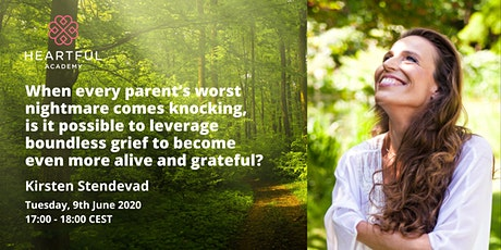 Is it possible to leverage grief to become more alive and grateful? tickets
