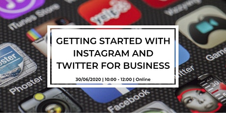Getting Started with Instagram & Twitter for Business tickets