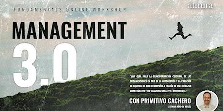 Fundamentals Online Workshop Management 3.0 entradas