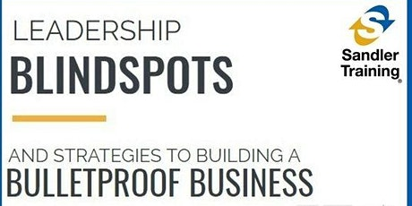 Blind Spots Review - Building a Bulletproof Business tickets