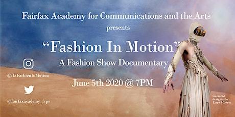 Fairfax Academy Fashion In Motion tickets
