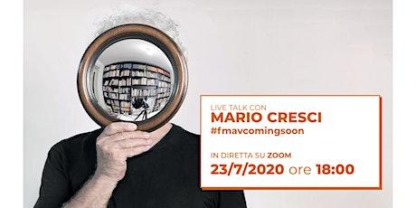 LIVE TALK con Mario Cresci biglietti