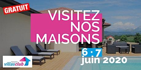 [Visites privées 6 & 7 Juin] : Maison Villas Club à Tours tickets