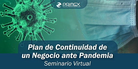 Plan de Continuidad de un Negocio ante Pandemia boletos