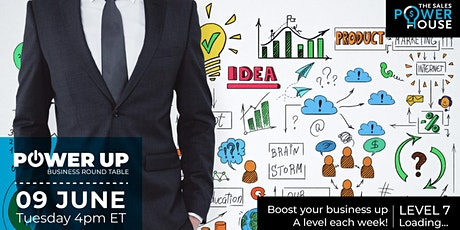 SPH POWER UP Roundtable - Test your knowledge to grow a successful business tickets
