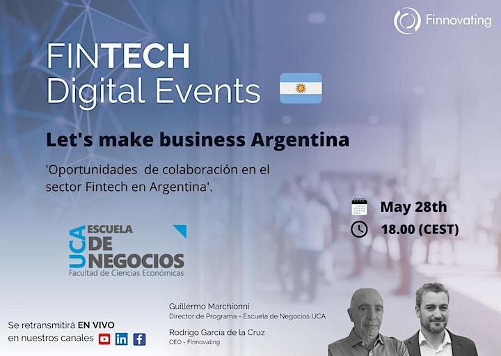 Imagen de Let's make business Argentina - by Finnovating