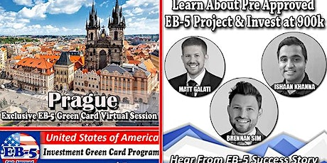 Prague's EB-5 American Green Card Virtual  Market Series-  Meet the Expert & Success Story (ONLINE EVENT) tickets