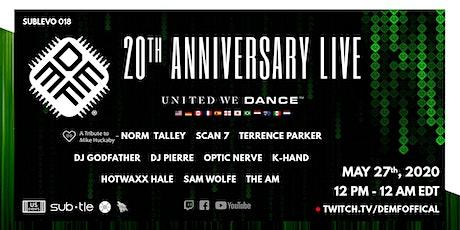 DEMF   20th Anniversary LIVE tickets