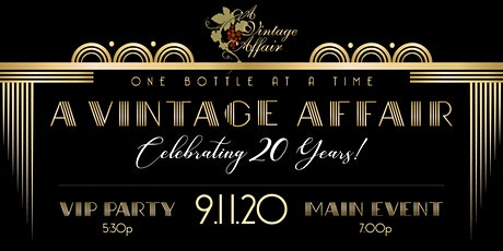 A Vintage Affair's 20th Anniversary Celebration: The Roaring Twenties tickets