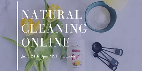 Natural Cleaning Online tickets