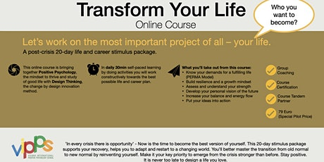 Transform Your Life - Online Course tickets