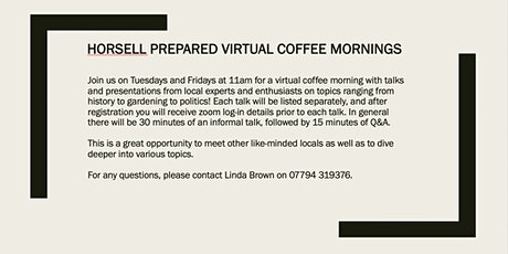 HP virtual coffee morning - How to select plants for your garden biglietti