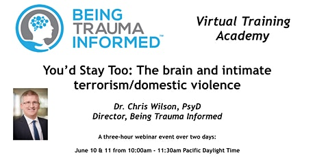 You'd Stay Too: The brain and intimate terrorism/domestic violence tickets