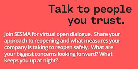 SESMA's Virtual Open Dialogue  tickets