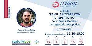 WEBINAR - Dott.Valerio Selva - FAMILIARIZZARE CON IL...
