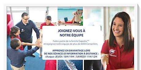 Sessions de Présentation - ExpediaCroisières tickets