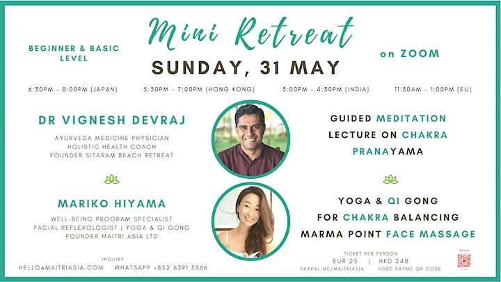 Ayurvedic Healing Mini Retreat on Zoom image