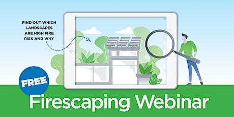 Topanga Firescaping Virtual Workshop tickets