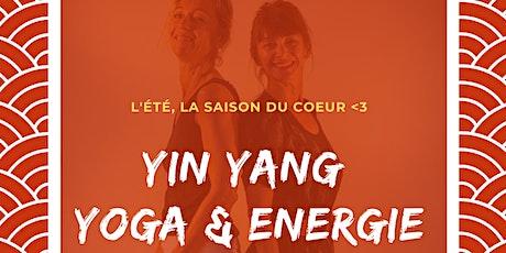 Atelier Yin Yang Yoga & Energie - été 2020 billets