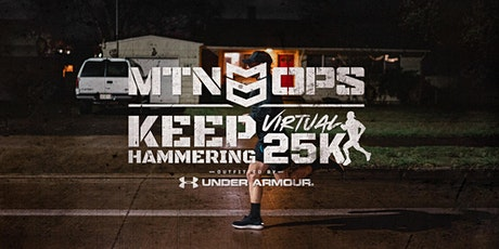 MTN OPS KEEP HAMMERING 25K Virtual Run tickets
