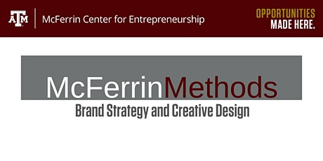 McFerrin Methods: Brand Strategy and Creative Design tickets