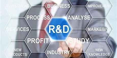 Research & Development Tax Credits tickets