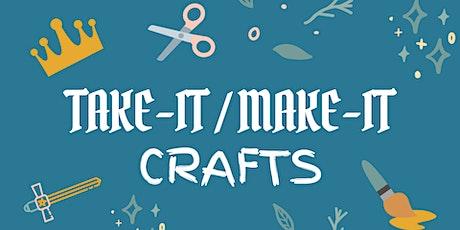 Take-It/Make-It Craft: Land of Make Believe Map tickets