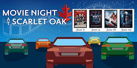 Movie Night at Scarlet Oak •Ford v Ferrari •June 16 tickets