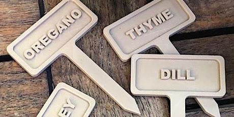 3D Design Basics Online - Design A Plant Tag tickets