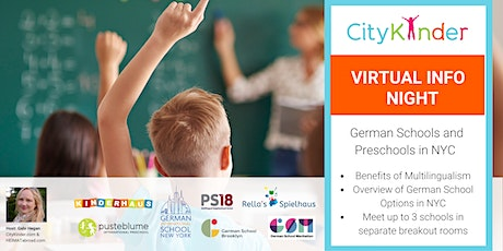 Virtual Info Night: German Preschools and Schools in NYC tickets