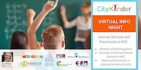 Virtual Info Night: German Preschools and Schools in NYC entradas