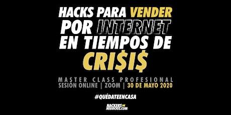 HACKS para vender por internet en tiempos de crisis boletos