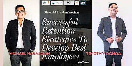 Successful Retention Strategies To Develop Best Employees via Zoom tickets