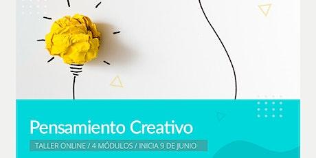 Taller Online Pensamiento creativo entradas