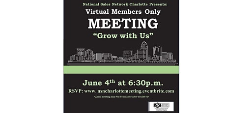 NSN Charlotte Chapter Meeting tickets