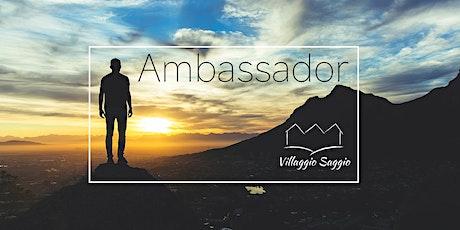 Live su Facebook - Villaggio Saggio | per-corso per futuri Ambassador biglietti
