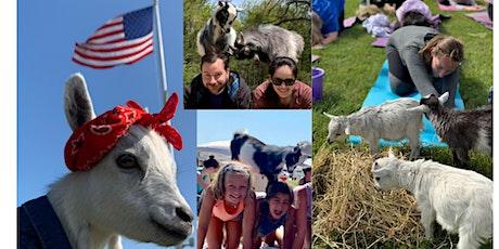 Namaaaste Goat Yoga on the Farm tickets