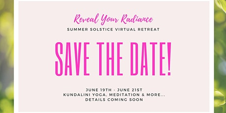 Reveal Your Radiance Retreat tickets