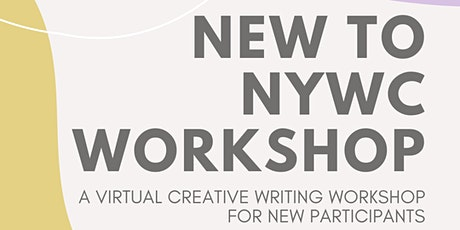 New to NYWC: A Virtual Creative Writing Workshop tickets