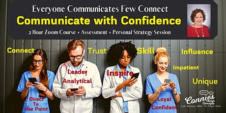 Communicate with Confidence July 23rd. tickets
