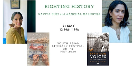 South Asian Literary Festival: RIGHTING HISTORY tickets
