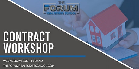 Contract Workshop - Join Us On Zoom tickets