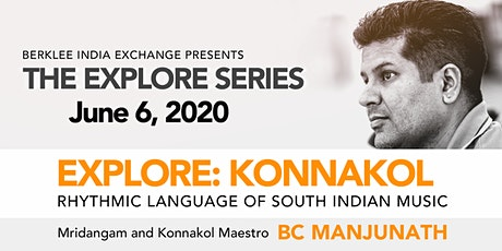 EXPLORE: Konnakol (WEBINAR) tickets
