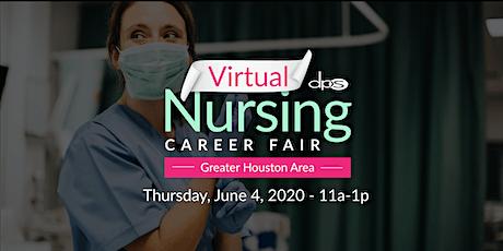Houston VIRTUAL Nursing Career Job Fair | Register for FREE Now tickets