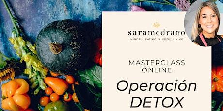 Masterclass: Operación DETOX entradas