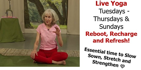 Yoga for Everybody Sundays 10AM (Pacific Time) tickets