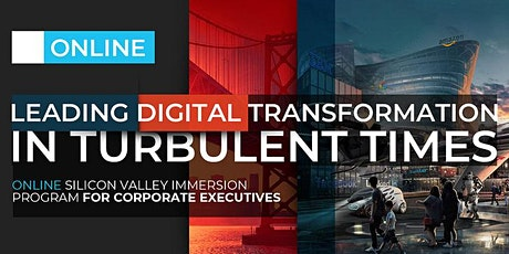 LEADING DIGITAL TRANSFORMATION IN TURBULENT TIMES | ONLINE PROGRAM | AUGUST tickets