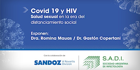 Webinar: Covid19 y HIV. Salud sexual en la era del distanciamiento social tickets