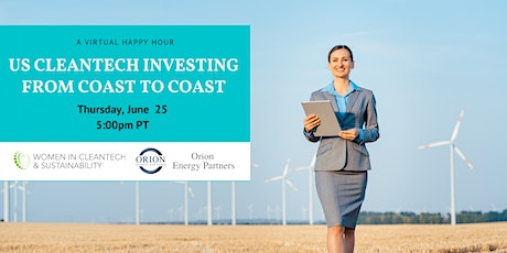 US Cleantech Investing from Coast to Coast tickets